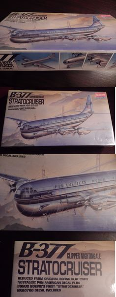 Aircraft Non-Military 1189: New Academy B-377 Stratocruiser Clipper Nightingale 1:72 Scale Model Kit #1603 -> BUY IT NOW ONLY: $34.95 on eBay!