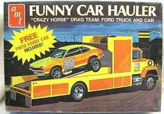 AMT Race Hauler with Ford Pinto.