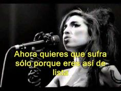 "Amy Winehouse ""Best friends"" - subtítulos en español - YouTube"