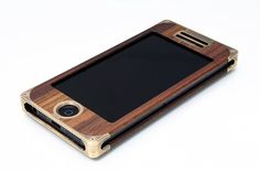 The EXO16 Apple iPhone 5 Case  Brass & Pao Ferro by EXOvault, $225.00