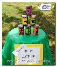 Easy Halloween game for kids -- Perfect for a backyard Halloween Party!