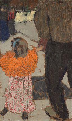 artemisdreaming: Child Wearing a Red Scarf, 1891 Édouard Vuillard