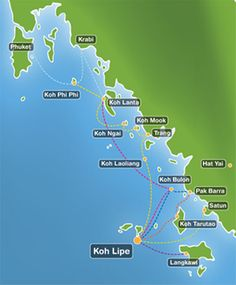 Koh Lipe - could be a different place to go - depending on other islands we want to go to