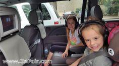 OnFair Car Headrest DVD Customer Review Testimonial - 2008 Honda Odyssey  #headrestdvdplayer #family