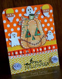 FELIZ HALLOWEEN CARD