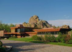The Menkick House near Green Rock in Boulder, designed 1970 by Charles Haertling.