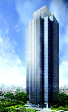 World Trade Center II, Jakarta, Indonesia by Aedas Arhitects :: 30 floors
