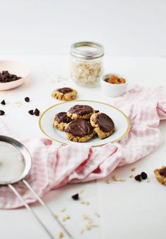 Peanut Butter And Chocolate Cookies via @thebutterhalf