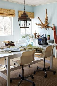 Merveilleux Image Result For Coastal Office Small Home Offices, Workspaces, Office  Interior Design, Home