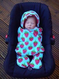 Car Seat Cosy Wrap And Blanket 2 Piece Set Fleece By Siennachic