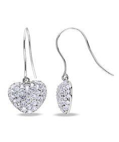 Sevil Designs Tri-Tone Textured Leaf Chandelier Earrings | Zulily ...