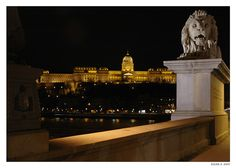 #Budapest #lion #castle #Hungary #Europe #Danube
