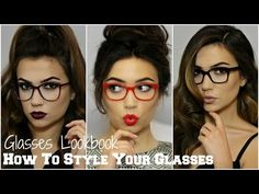 Makeup For Glasses Lookbook | TheMakeupChair AD - YouTube