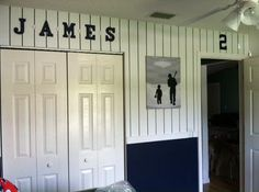 my favorite sports teams inspired me to decorate my sons nursery with a new york yankees - New York Yankees Bedroom Decor