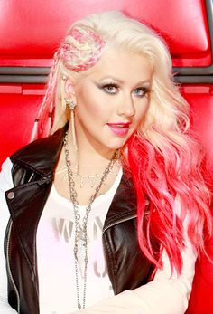 Christina Aguilera's Hair