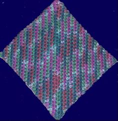 South Bay Crochet - Crocheted Origami Hot Pad Pattern By Edward M. Barrall ~ free pattern
