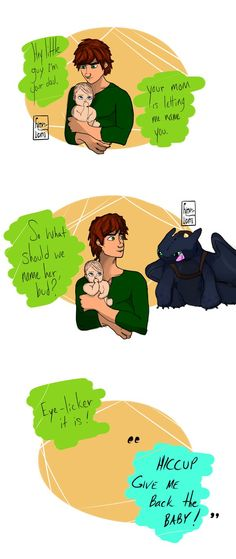 Why Hiccup Shouldn't Name Things by Tuffuny on DeviantArt