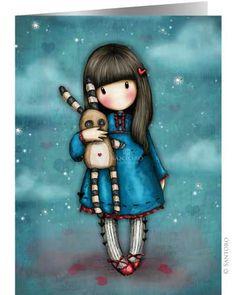Gorjuss Cards - Hush Little Bunny