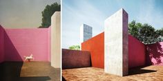former residence of architect Luis Barragan in the Miguel Hidalgo district, Mexico City