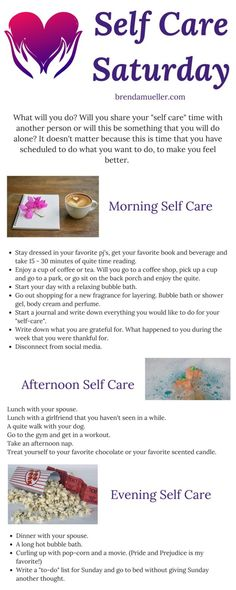 Self Care Saturday Whew! I don't know about you, but this has been a busy week. Now Saturday is here and now it is take some time just for you. #autoimmunewellness #brendamueller.com #autoimmunedisorders #seflcaresaturday