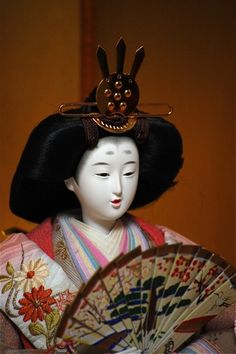 Miyoshi's court dress -- the many layers and colors of the traditional court dress of the Heian period