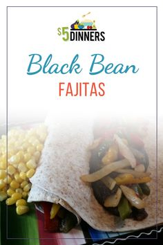 Learn how to make this black bean fajitas recipe for this Cinco de Mayo or a fast and easy weeknight dinner. Head to my blog to get this spring vegetarian dinner recipe and many more! #Dinner #cincodemayofood #fajitas #vegetarian Easy Delicious Dinner Recipes, Supper Recipes, Vegetarian Recipes Dinner, Mexican Food Recipes, One Dish Dinners, Easy Weeknight Dinners, Fajita Recipe, Yummy Smoothies, Cold Meals