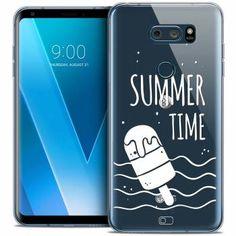 "Coque Crystal Gel LG V30 (6"") Extra Fine Summer - Summer Time - 7,90 €"