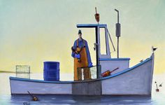 """""""Keeper"""" by David Witbeck. 26"""" x 40"""" Oil on Canvas. Available at…"""