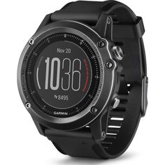Garmin Fenix 3 HR Multi-Sport GPS Watch | Gray - Perfect for Open Water and Triathlon