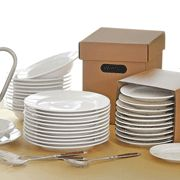 "Enter our giveaway, and you'll automatically be eligible to win a CHEFS Dinnerware Catering Pack. <strong><span style=""color: #b32025"">You can enter up to three (3) times per e-mail address per day.</span></strong> Deadline 10.8.15."