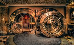 The Bedford, Chicago Abandoned Houses, Abandoned Places, Antique Safe, Whiskey Room, Vault Doors, Puerto Rico History, Gun Rooms, The Bedford, Banks Vault