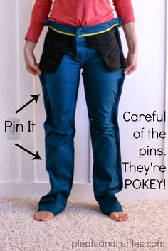 Tutorial: How to Take In Pants