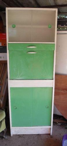 Retro Vintage 1950s/60s Kitchen Cabinet/Cupboard/Dresser/Kitchenette 60s Kitchen, Kitchen Ideas, Kitchenette, Kitchen Furniture, Cupboard, Filing Cabinet, Retro Vintage, 1950s, Dresser