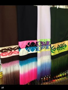 New! Ribbon work shawl with tied and tie dyed fringes $325.00 each