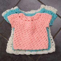 Little Moll's Dress & Cardigan Set - 3 Sizes tutorial ༺✿ƬⱤღ  http://www.pinterest.com/teretegui/✿༻