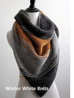 Ravelry: The Autumn Woods Shawl pattern by Winter White Knits