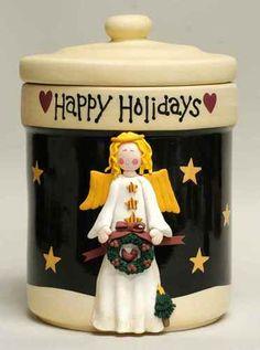 Midnight Angel Cookie Jar by Certified International