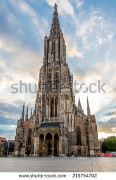 Ulm Cathedral Stock Photos, Images, & Pictures | Shutterstock