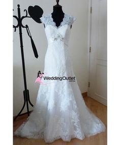 Camelia vintage wedding gown vi-505 - WeddingOutlet.co.nz   Wedding Outlet  Wedding Dresses Online   Bridesmaid Dresses   Wedding Favours