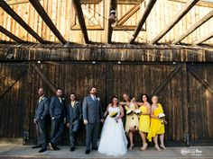 Bride and Groom, wedding party in the  Desert at Stardance in Tucson, Arizona. Star Dance.  Barn. Something Blue Photography