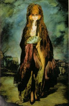 Retrato de la marquesa Casati. 1923.