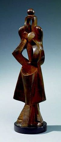 Archipenko, Alexander (1881-1964) - 1916 Woman Standing by RasMarley, via Flickr