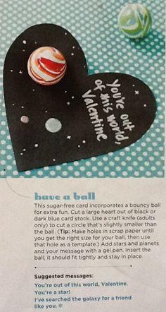bouncy ball valentine