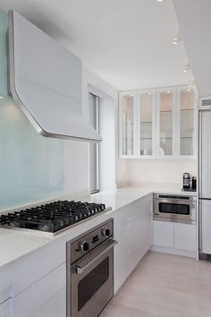 Madison Square Apartment by David Bucovy Architect - Sleek exhaust hook