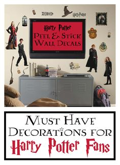 Embark upon a magical adventure with our Harry Potter Peel & Stick Wall Decals. #ad #harrypotter #harrypotterfan #potterhead #walldecal #wallart #target