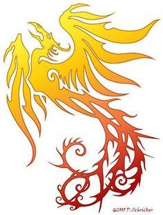 Dragon Phoenix Tattoo - Cool Galery Tattoo Fuul