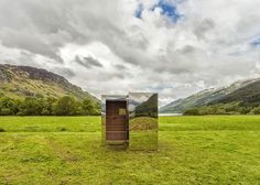 Na Escócia, estudantes de arquitetura constroem casa invisível