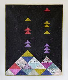 Cotton and Steel Volcano Quilt