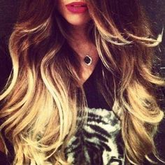 Hair and shirt