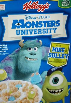 DeLish DeMaria: Mike Wazowski / Monsters University Treats